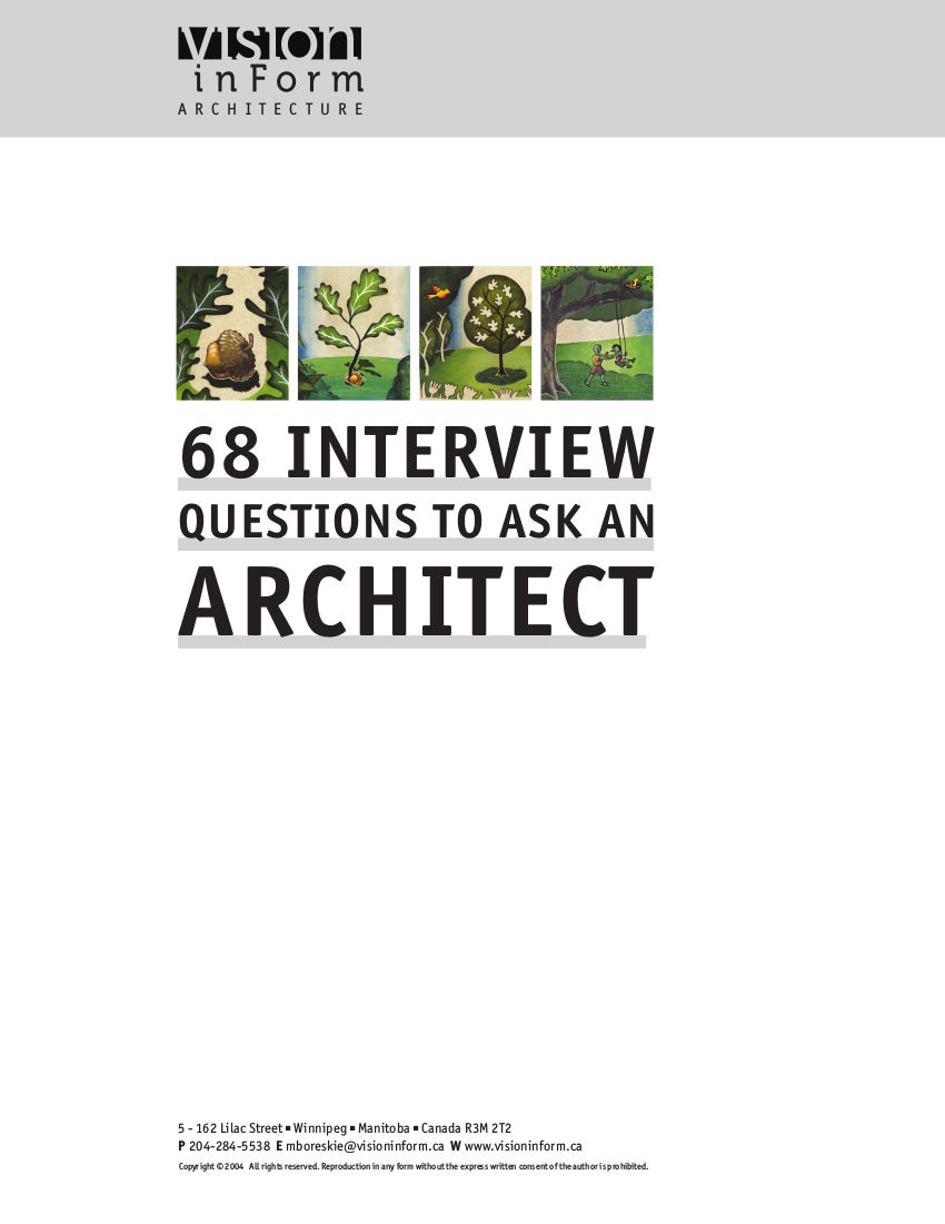 68 Interview Questions to Ask an Architect