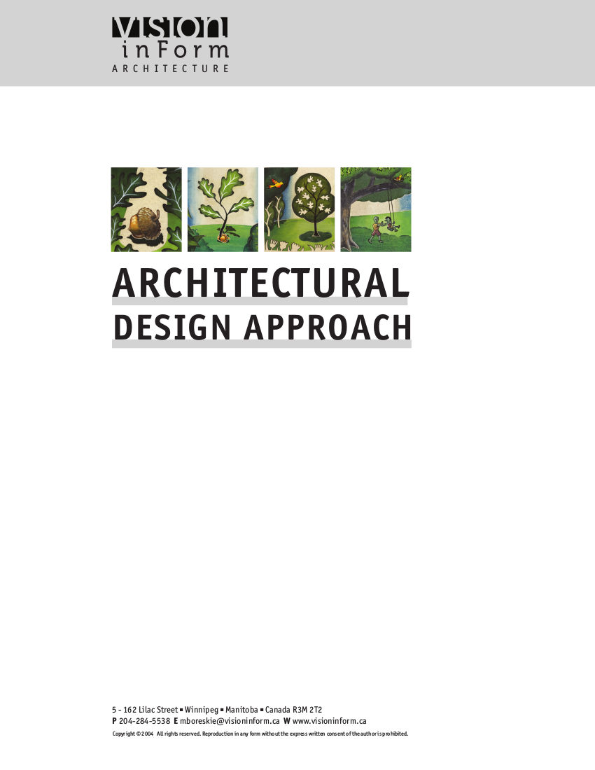 Architectural Design Approach