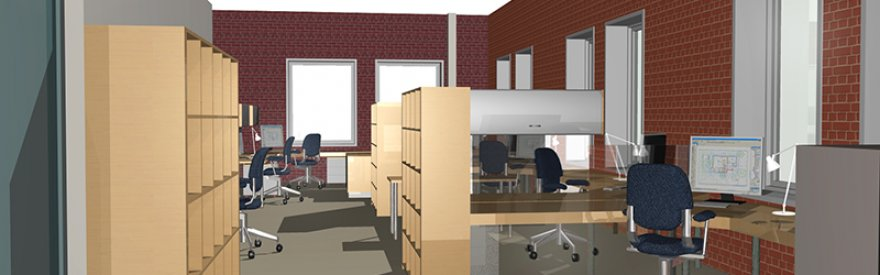 Office Space Design for Vision In Form